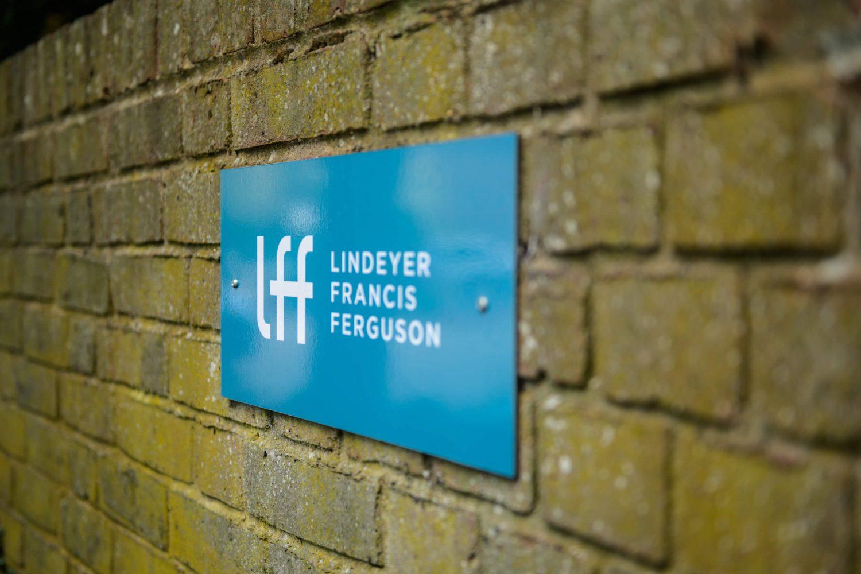 Lindeyer Francis Ferguson sign exterior