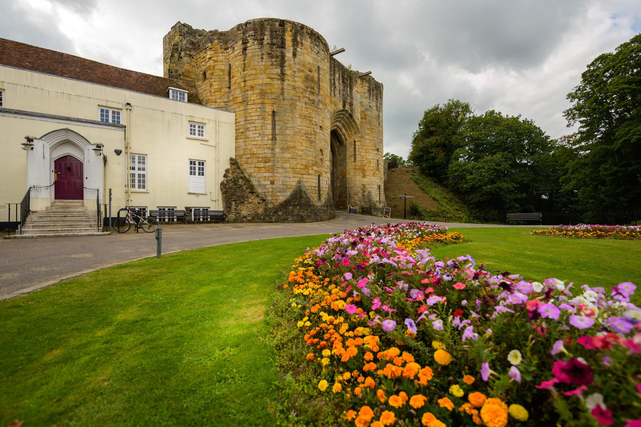Castle archway Tonbridge, Kent