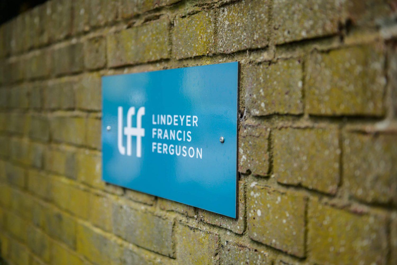 Lindeyer Francis Ferguson parking sign
